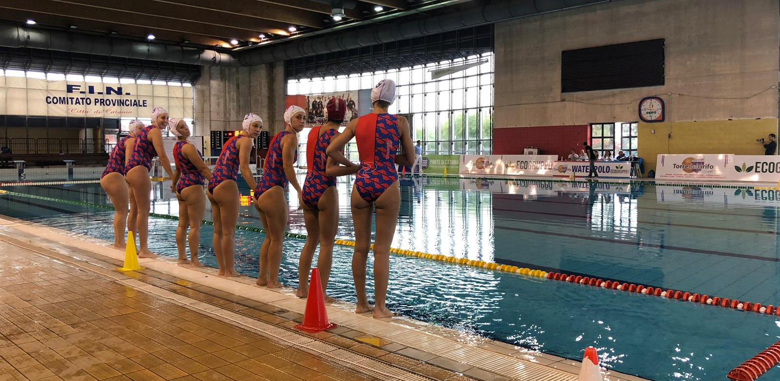 Pallanuoto femminile l 39 a1 torna in vasca l 39 ecogruppo - Torre del grifo piscina ...